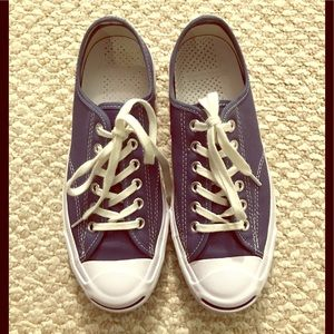 CONVERSE Jack Purcell low tops in blue